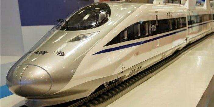 Çin yaptı: Saatte 600 km hızla gidecek