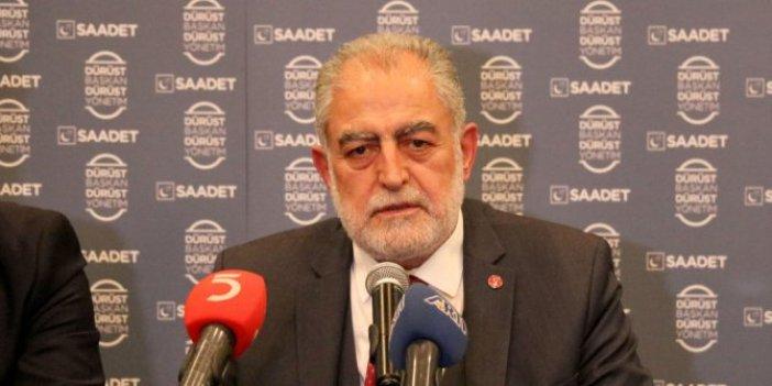 Saadet Partisi adayı Gökçınar'dan adaylık açıklaması