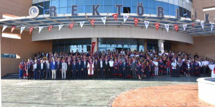 Rektör oldu, AKP İl Başkanı'na teşekkür etti