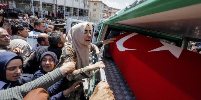 Şehit Mehmet Köklü'nün cenazesi Yozgat'ta toprağa verildi