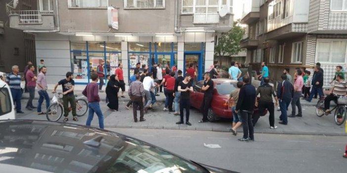 Kayseri'de Suriyeli iki aile birbirine girdi