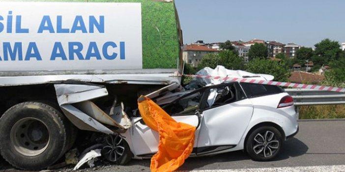 Kuzey Marmara Otoyolunda kaza: 1 ölü