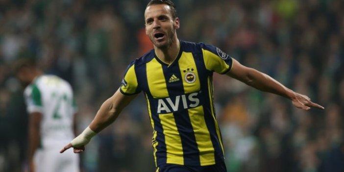 Soldado Fenerbahçe'ye veda ediyor
