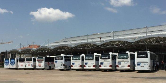İki bayram arası otobüs biletlerine zam!