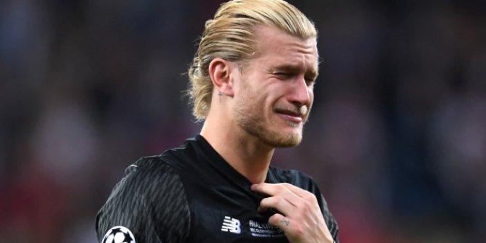 Liverpool'un kalesicinden Karius'a destek