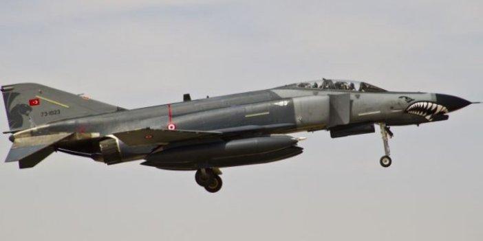 F-4 savaş uçağı iniş sırasında arızalandı