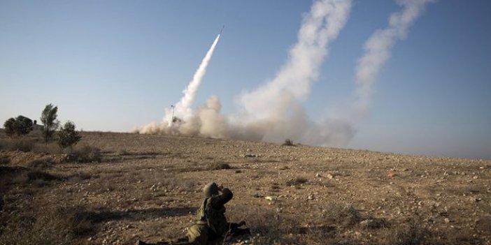 İsrail'den Suriye'ye hava harekatı