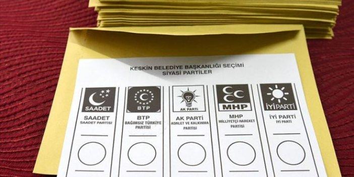 İptal edilen ilçelerde oy verme işlemi sona erdi