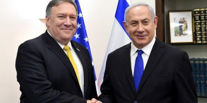 Pompeo: Barış planı İsrail'e öncelik tanıyor