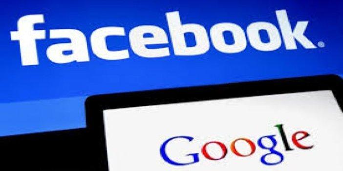 Google ve Facebook'a soruşturma iddiası borsayı altüst etti!