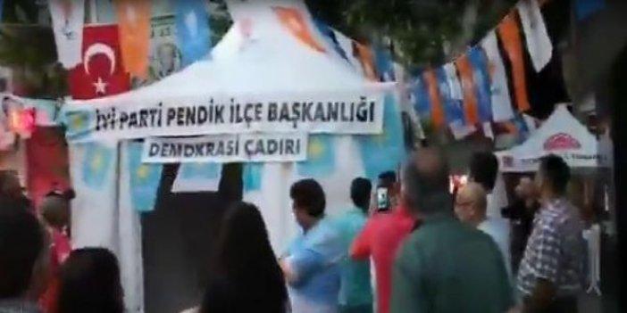 İYİ Parti'nin demokrasi çadırına polis müdahalesi!