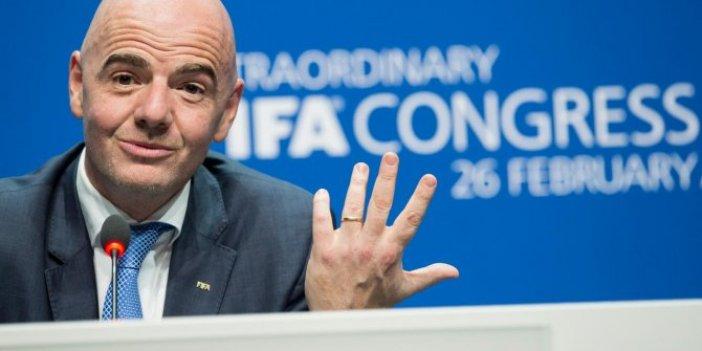 Gianni Infantino yeniden başkan seçildi