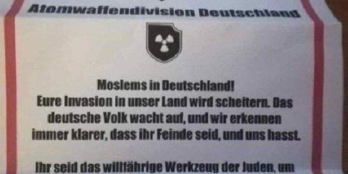 Almanya'daki Türklere tehdit mektupları!