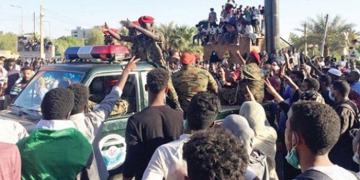 Sudan'da darbecilere darbe girişimi