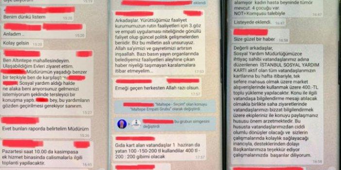 """""""İstanbul'da sosyal yardım skandalı"""" iddiası"""