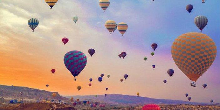 Kapadokya'da bir ilk: Balon festivali