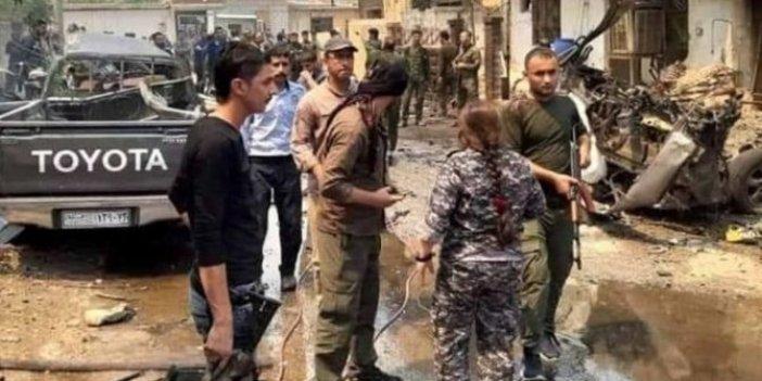Suriye'de terörist bölgesinde patlama