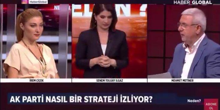 Mehmet Metiner'den canlı yayında olay hareket