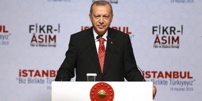 """Erdoğan: """"Etnik ve kültürel milliyetçiliği ortadan kaldırdık"""""""