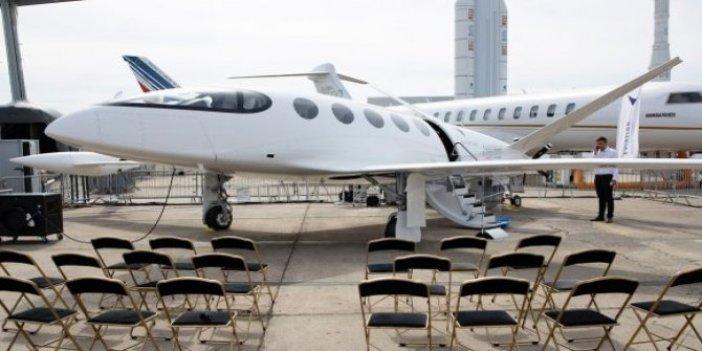 Bu uçak tek şarjla bin km gidebiliyor!
