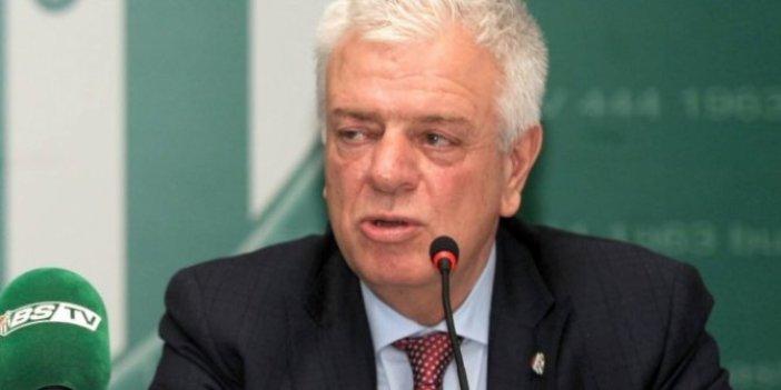Bursaspor Başkanı Ali Ay: Yalnız bırakıldık