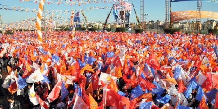 Seçim yasağına rağmen AKP propagandaya devam ediyor