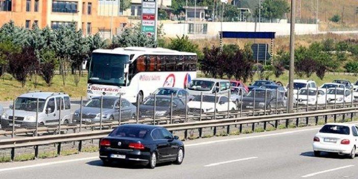 İstanbul girişlerinde seçim yoğunluğu sürüyor
