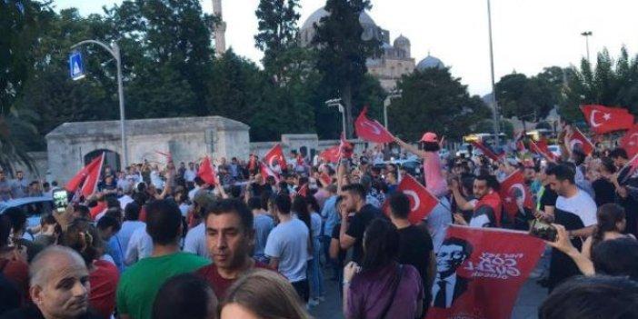 İstanbul'un dört bir yanında kutlamalar