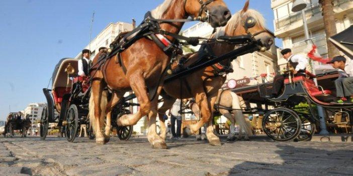 İzmir'de fayton taşımacılığı yasaklandı