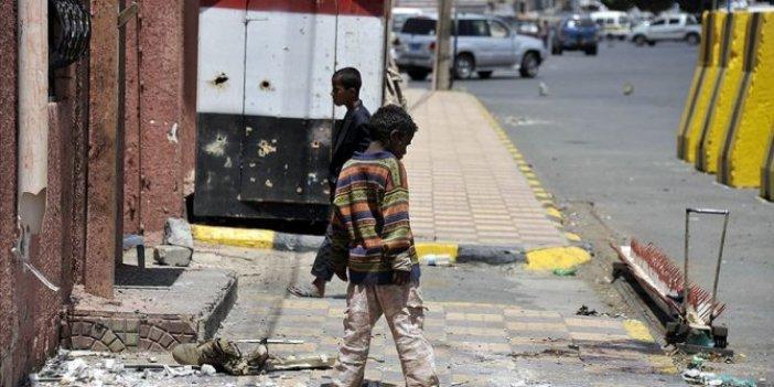 Yemen'deki iç savaşta 7 bin 500 çocuk öldü