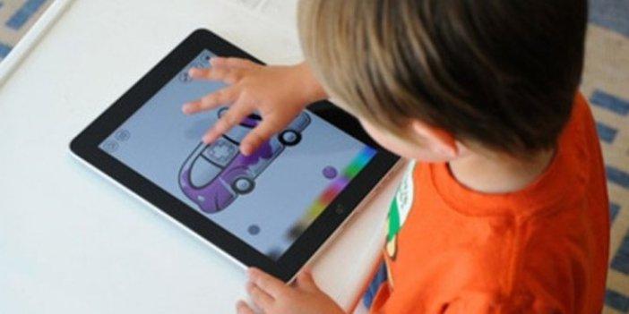 Çocuklarda tablet ve telefon kullanımına dikkat
