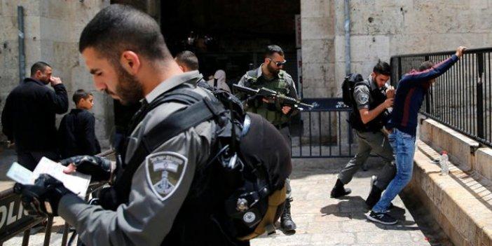 İsrail polisinden Filistinli Bakana gözaltı!