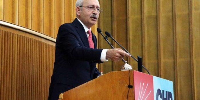 Kılıçdaroğlu partisinin grup toplantısında konuşuyor