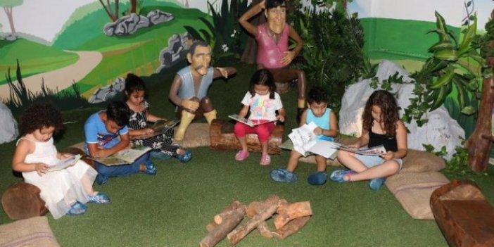 Kitap ve Oyuncak Kütüphanesi'ne çocuklardan büyük ilgi