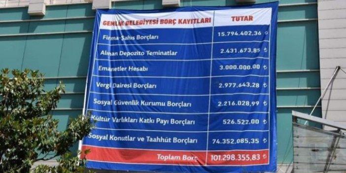 AKP'li eski başkandan CHP'li yeni başkana borç davası!