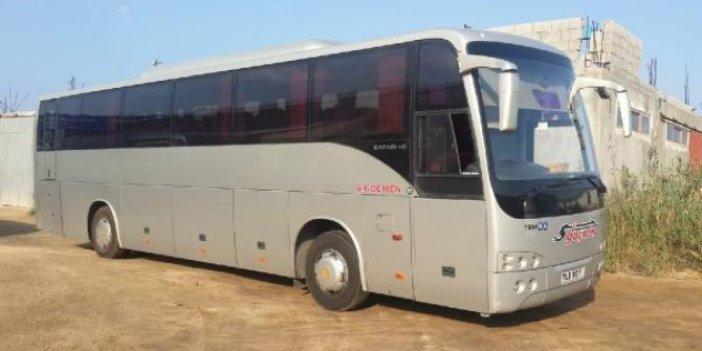 Rumlar, Türk plakalı otobüse saldırdı