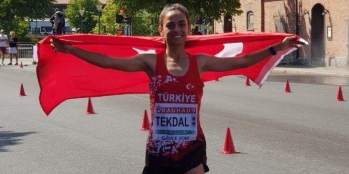 Avrupa U23 Şampiyonası'nda Ayşe Tekdal, altın madalya kazandı