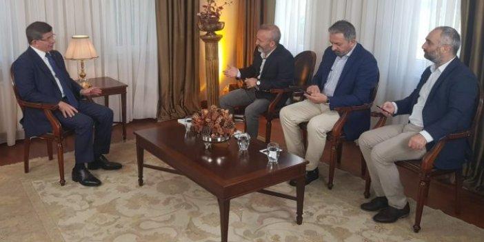 """İsmail Saymaz Yeniçağ'a konuştu: """"Davutoğlu ile röportaj yapmak..."""""""