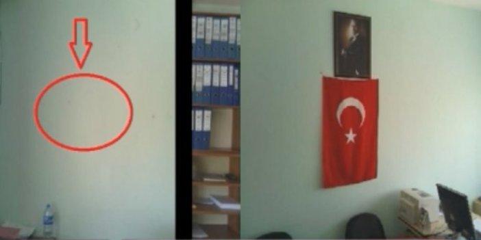 Bayrağa ve Atatürk'e sahip çıktı, ihraç edildi