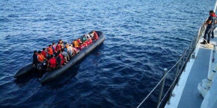 Edirne Enez'de 65 kaçak göçmen yakalandı
