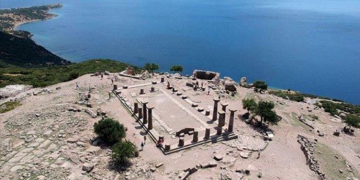 Assos antik kenti 1800'den bu yana kazılıyor