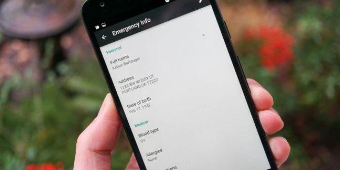 Android'e 'hayat kurtaracak' özellik geliyor