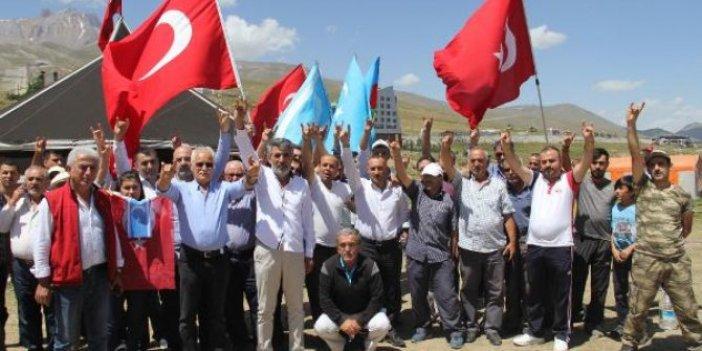 Erciyes'te Türk Kurultayı yapıldı