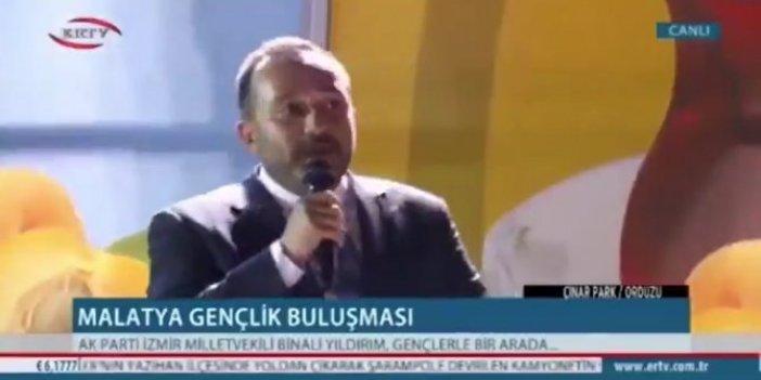 """AKP'li vekilden skandal ifade: """"Allah gibi geliyor"""""""