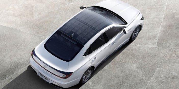 Hyundai'nin güneş enerjili otomobili asfalta indi