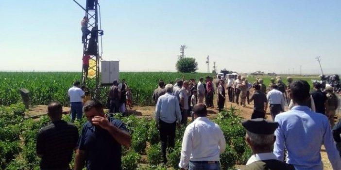 Kaçak elektrik kontrolü yapan memura saldırı