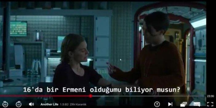 Netflix dizisinde Soykırım propagandası