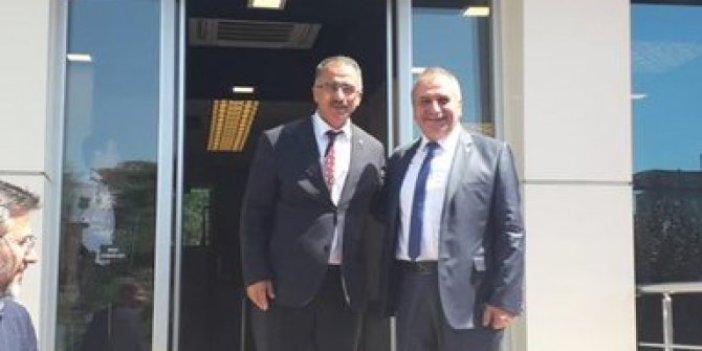 Çelik, Mustafa Canlı'yı ziyaret etti