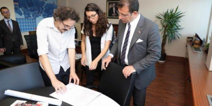 Ekrem İmamoğlu seçim vaadi için çalışmalara başladı