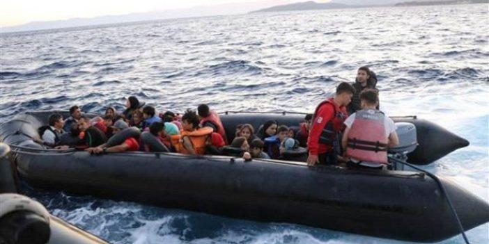 İzmir'de 83 kaçak göçmen yakalandı